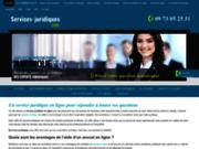 Service juridique en ligne