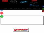 screenshot http://www.sessionraft.fr session raft mont-blanc