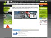 screenshot http://www.sf-composites.com sf composites négociant résine, fibres, silicone.