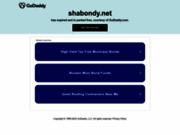 screenshot http://www.shabondy.net Blog beauté