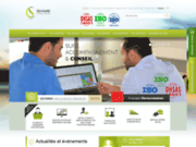 screenshot http://www.shams.tn solution solaire photovoltaique