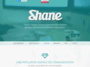 screenshot http://www.shanegraphique.com L'agence de publicité dédiée au web