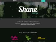 screenshot https://www.shaneprod.fr Shane Prod