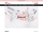 screenshot http://www.shebuel.com Produits de beauté