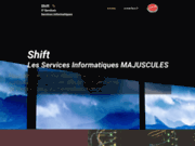 screenshot http://www.shift.be shift - services informatiques