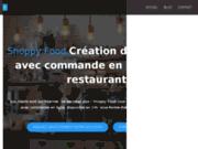 screenshot http://shoppyfood.com site pour les restaurants