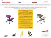 screenshot http://www.siegepro.com l' ergonomie spécifique à chaque poste de travail