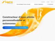 Sigea : constructeur d'axes numériques motorisés