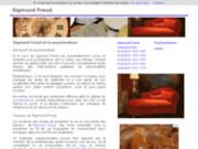 screenshot http://www.sigmund-freud.org/ psychanalyse