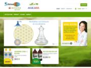 screenshot http://www.silicium7.com/ silicium7, silicium organique, bio et diététique