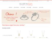 screenshot http://www.silverinparis.com/ bijoux pierres