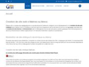screenshot http://www.simograf.net création et référencement de site web au maroc