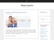 SIMON&ASSOCIES identité graphique, web, edition et production
