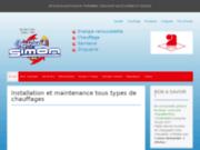 screenshot http://www.simon-chauffage.com etablissements simon chauffagiste 70 et 88