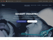 screenshot https://simsoft-industry.com Simsoft Industry