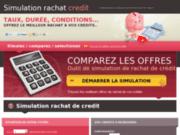 screenshot http://simulationrachatdecredit.com simulation rachat de crédit