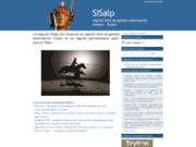 screenshot http://sisalp.fr conseil et hébergement openerp