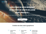 screenshot http://www.siteline.fr site line, agence web : sites internet loire