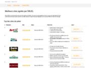 Sites agréés ARJEL légal en France