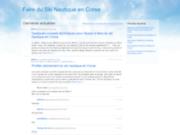 screenshot http://www.ski-nautique-corse.com/kitesurf-corse.php le kitesurf en corse, un sport nautique