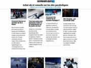 screenshot http://www.skisparaboliques.com ski parabolique : bien acheter ses skis sur internet