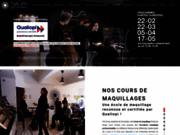 screenshot http://www.slamakeupacademy.com école de maquillage professionnelle