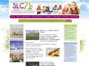 screenshot http://www.slc71.fr sejour scolaires et classe de decouverte avec slc