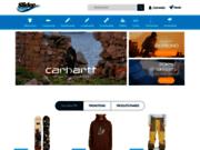 screenshot http://www.slidercorner.com/ Vente de skateboards
