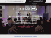 Site internet Smart Energies Summit