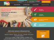 screenshot http://smo-blagnac.com/ SMO - Service à la personne