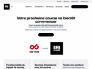 screenshot http://www.sms-timing.fr sms-timing : systèmes et logiciels pour karting