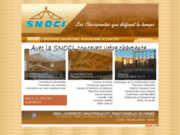 screenshot http://www.snoci-charpente-vendee.fr snoci, fabricant de charpentes en vendée