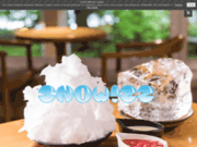 screenshot https://www.snowizz.fr machine à kakigori et shave ice