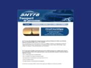 screenshot http://www.snt78.com voiture avec chauffeur