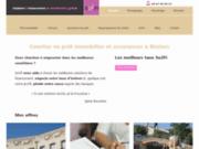 screenshot http://www.so2fi.com/ so2fi, solutions de financement herault, courtier credit immobilier herault
