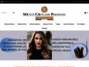 Commerce en ligne d'extensions de cheveux naturels