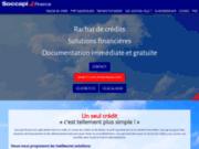 screenshot http://www.soccapi.fr rachat de crédit, dettes sur toulouse, tarbes, pau