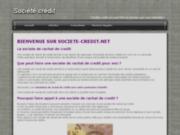 Societe de rachat de credit