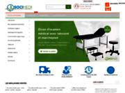 screenshot http://www.socimed.com mobilier médical