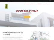 screenshot http://www.socoprim-atecmo.fr/ l'immobilier en direct promoteur