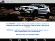 screenshot http://www.sodivem.com sodivem importateur véhicules multimarques