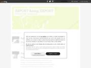 screenshot http://sofiex-world.over-blog.com/ sofiex world import export