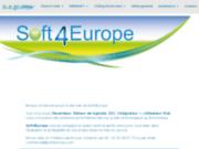 screenshot http://www.soft4europe.com/ L'innovation en matière d'économie d'énergie en entreprise