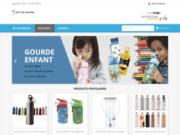screenshot http://www.soif-de-gourde.fr vente de gourdes, isothermes et bidons eau