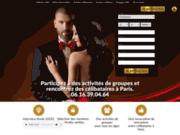 screenshot http://www.soireesdannie.com club rencontre paris