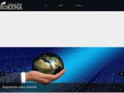 screenshot http://www.sokemacreationweb.fr SOKEMA Création Web
