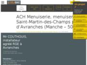 ACH Menuiserie à Saint Martin des Champs (50 - Manche)