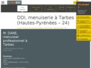 DDI, Menuisier Tarbes : fenêtre, porte & fermeture