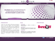 screenshot http://www.solorun.com/fr/website/accueil fond d'investissement - private equity fund - holding de participations - solorun