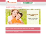 Rachat de credit, regroupement de credits - solutionfinance.fr